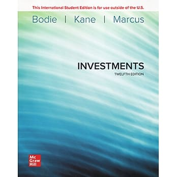Investments (ISE)(12版)