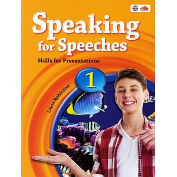 Speaking for Speeches 1: Skills for Presentations with QR Code for the Audio App and MP3/1片