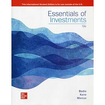 Essentials of Investments(12版)