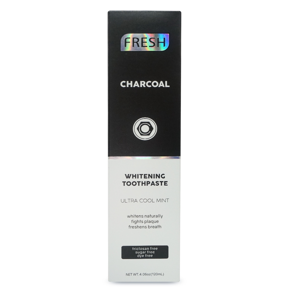 Fresh Charcoal Whitening Toothpaste 120ml