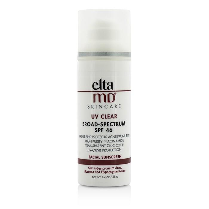EltaMD UV Clear Facial Sunscreen SPF 46 - For Skin Types Prone To Acne, Rosacea & Hyperpigmentation 48g