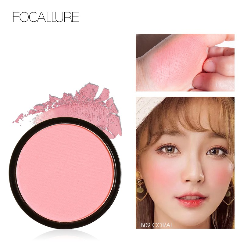 FOCALLURE Refill Blush Natural Pressed Blusher - 6 Colours