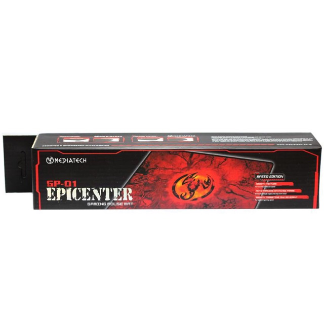 Mediatech Mouse Pad Gaming GP 01 Epicenter Speed Edition  51910  HALUS