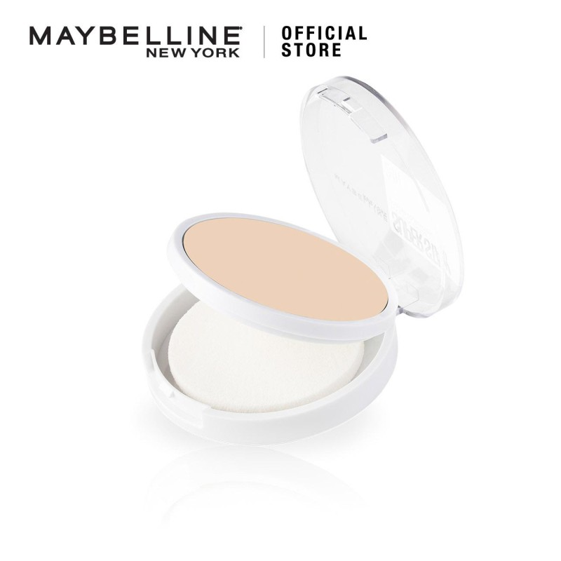 Maybelline Superstay 24H Full Coverage Powder Foundation - 7 Shades Matte Foundation