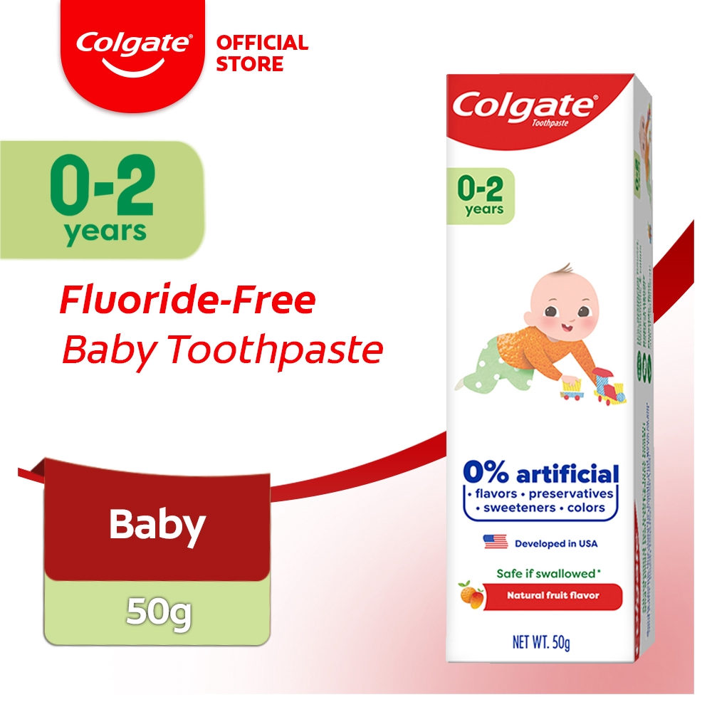 Colgate Baby Free From 0-2 Years Toothpaste