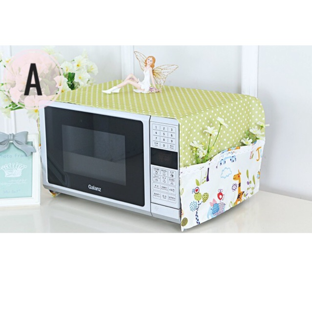 Penutup Cover Microwave Oven Shabby 32x98cm A7