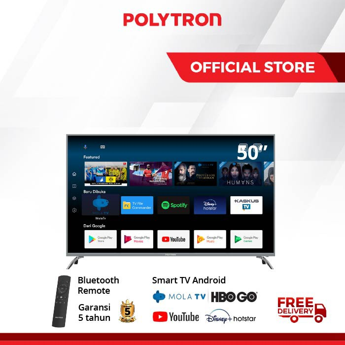 POLYTRON Smart TV Android 50 inch PLD 50AS8858 /G