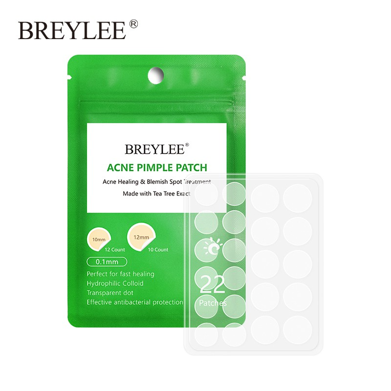 BREYLEE Acne Pimple Patch Acne Treatment Stickers Blemish  Face Mask Acne Cream Daily Use