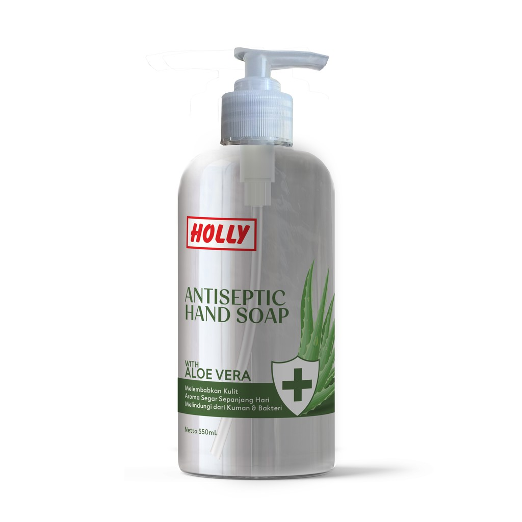 Holly Hand Soap Antiseptic Pump 550ml