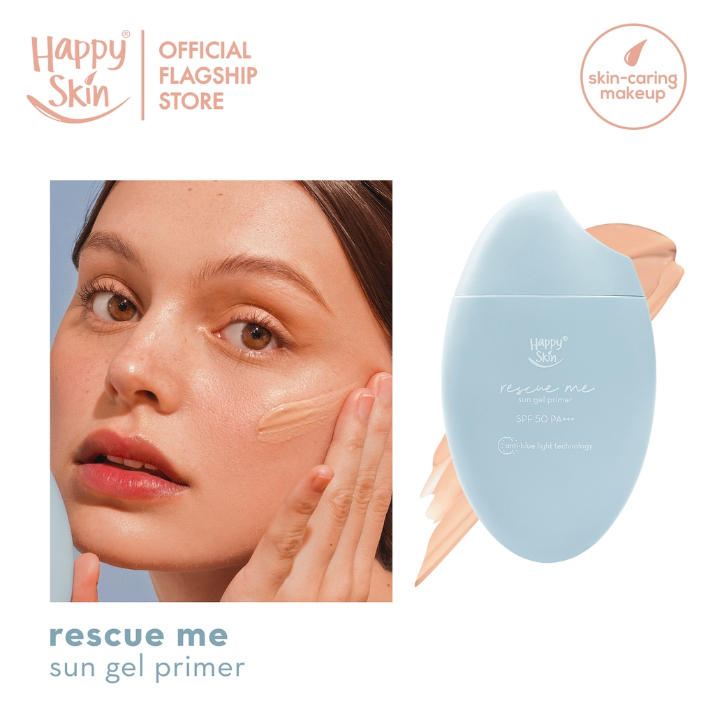 Happy Skin Rescue Me Sun Gel Primer SPF 50 PA+++ with Anti-Bluelight Technology