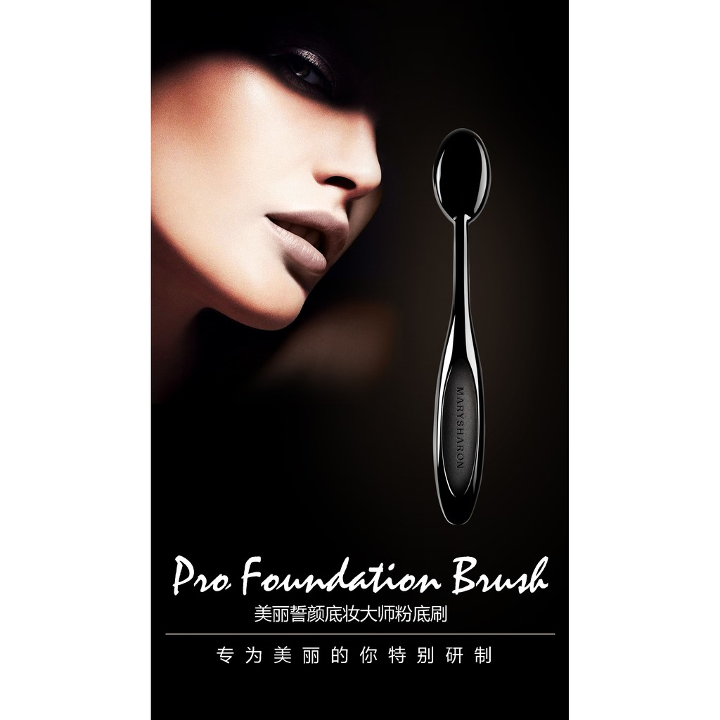 Pro Cosmetic Makeup Face Powder Blusher Toothbrush Curve Foundation Brush [Clearance]