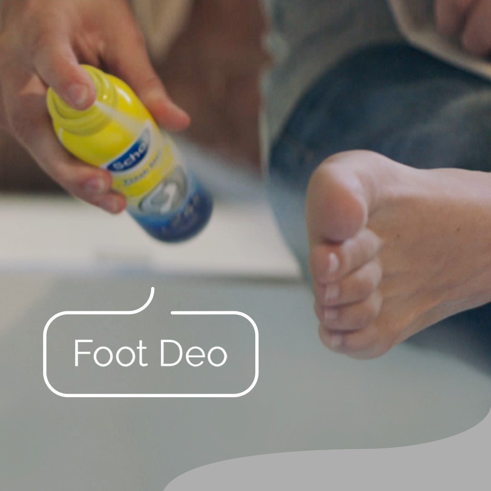 Scholl Fresh Step Foot Spray for Odour Elimination and Moisture Absorption 96g