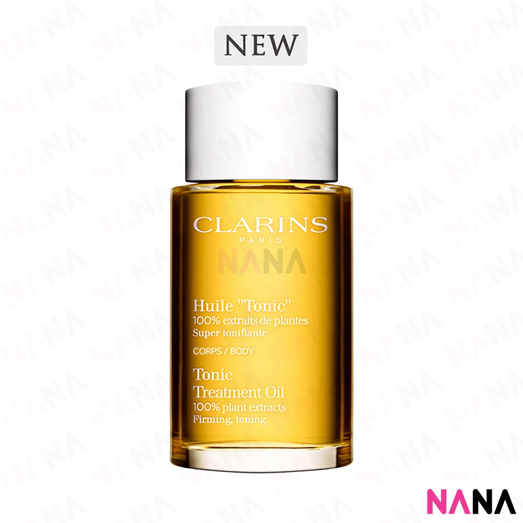 """Clarins Huile """"Tonic"""" Body Treatment Oil 100ml New Packaging"""