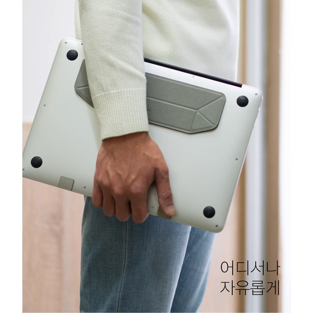 Ringke Laptop Stand Portable Light Stabil Ringan Simple Tipis Foldable Macbook Acer Asus HP IBM Dell