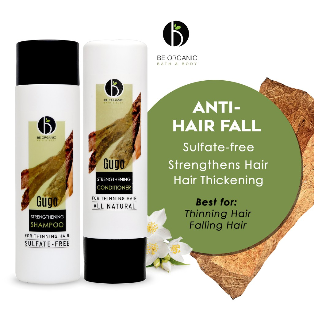 Be Organic Gugo Shampoo + Conditioner SET For Hair Growth & Hair Fall Control