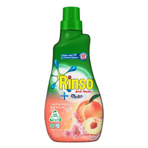Rinso Molto Detergen Cair Japanese Peach 1L