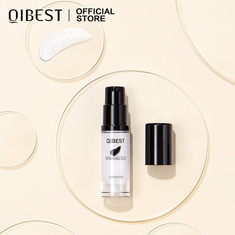 QIBEST Liquid Foundation Color Changing And Full Coverage Natural Makeup 25g