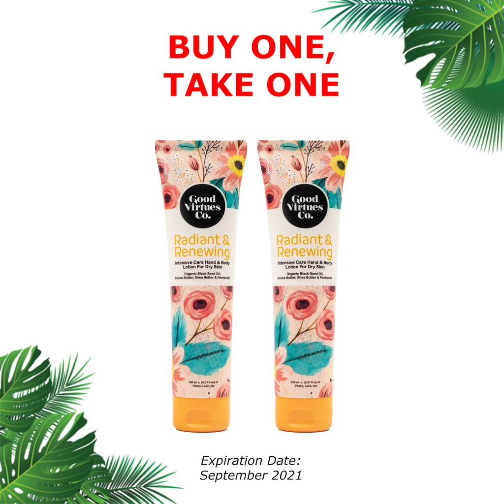 Buy 1 Take 1 GVC Intensive Care Hand & Body Lotion For Dry Skin 150 ml