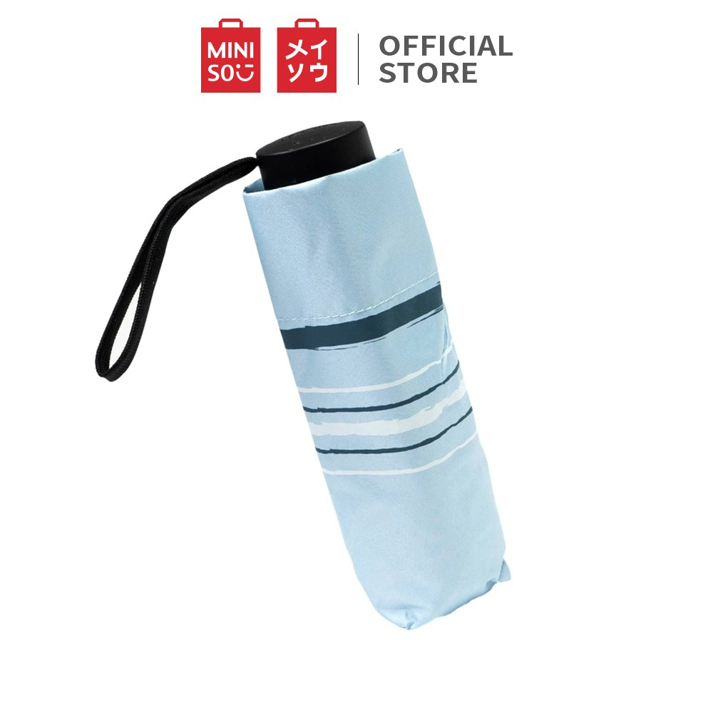 Miniso Official Simple Stripe UV Protection Umbrella/ Payung