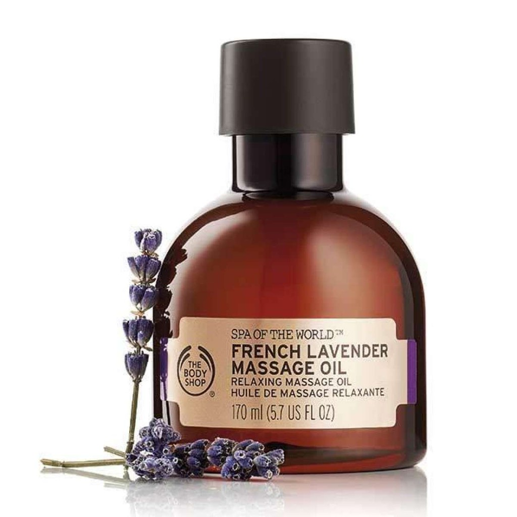 The Body Shop Spa Of The World™ French Lavender Massage Oil 170ML