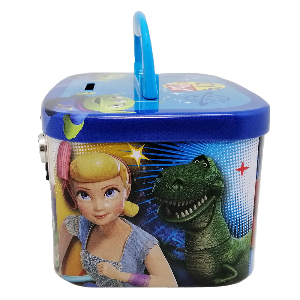 Toy Story 4 Coin Bank With Lock