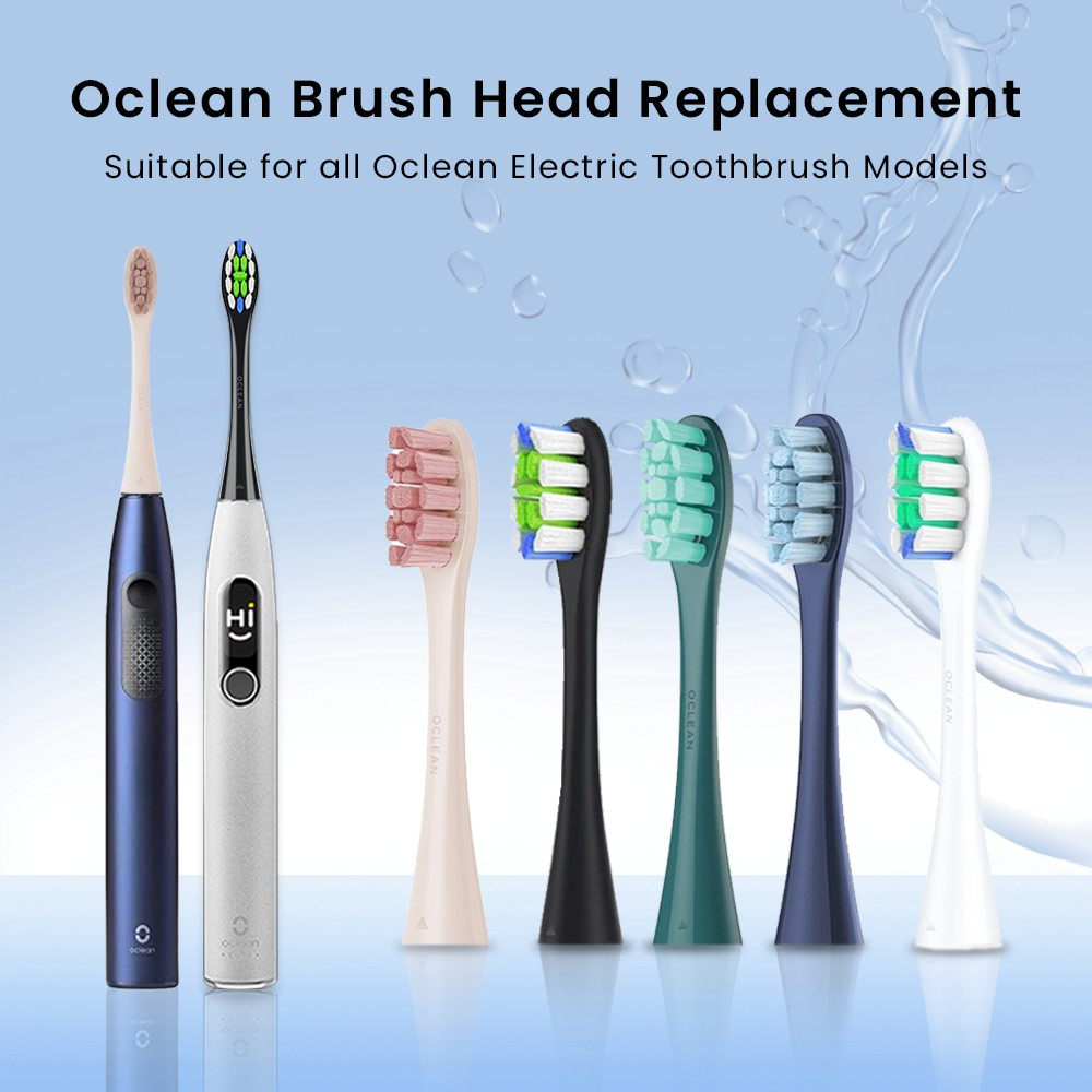 Oclean Sonic Electric Toothbrush - Head Replacement For Oclean X Pro and other Models