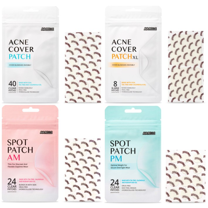 AVARELLE  Acne Care Package 03. Pimple Patch Absorbing Cover Blemish Full Package