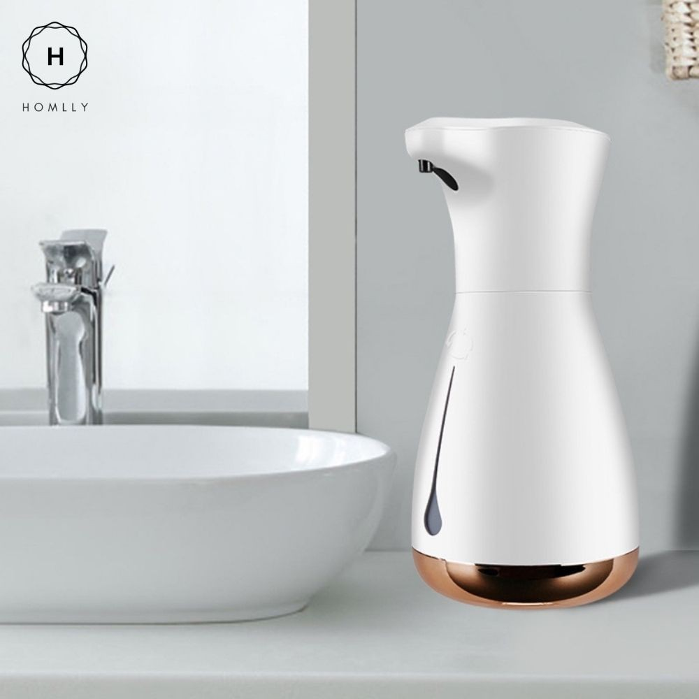 Homlly Touch Free Rechargeable Sensor Hand Liquid Soap Dispenser