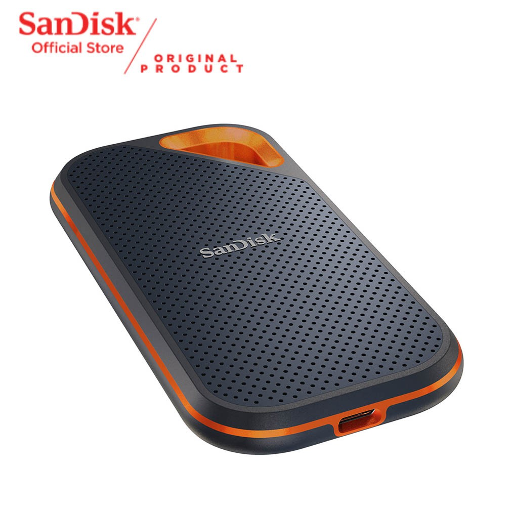 SanDisk Extreme PRO Portable SSD V2 E81 up to 2000MBps USB 3.2 - 1TB Free PowerBank*