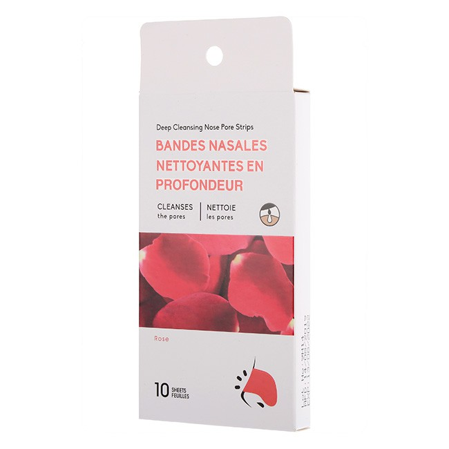 MINISO Deep Cleansing Nose Pore Strips Rose