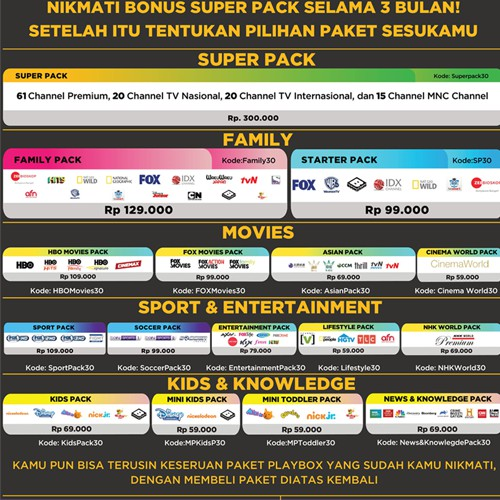 MNC Play - PlayBox Android TV Box Entry Pack Turn ur TV into a smart TV