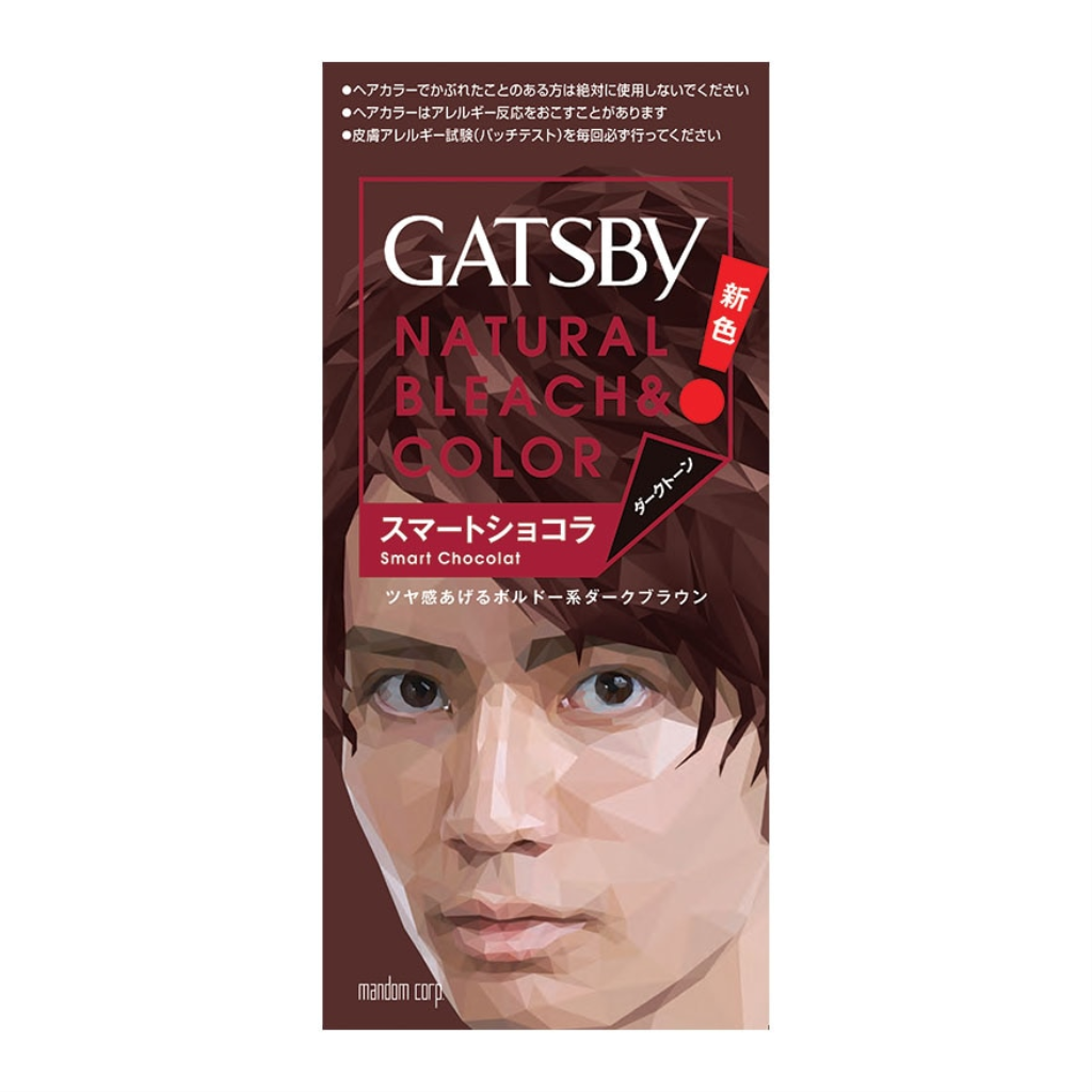 GATSBY Natural Bleach  Color Smart Chocolate 1s