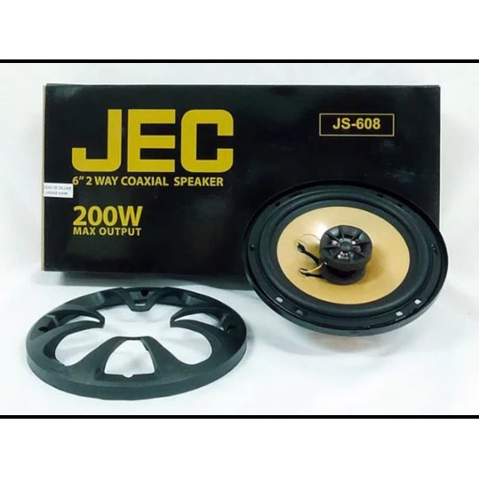 JEC JS-608 6 Inch Coaxial Speakers 200W Max Power