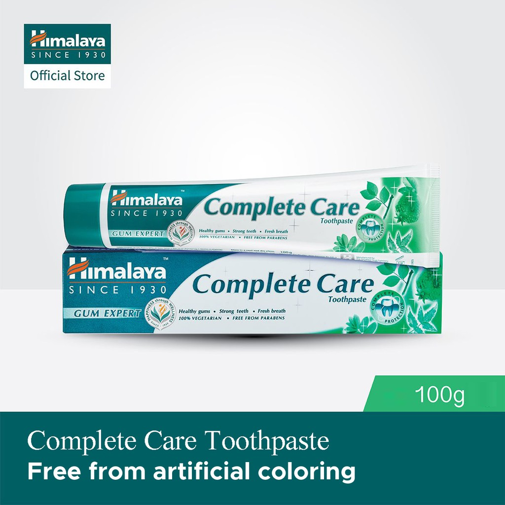 Bundle of 4 100g Himalaya Complete Care Toothpaste
