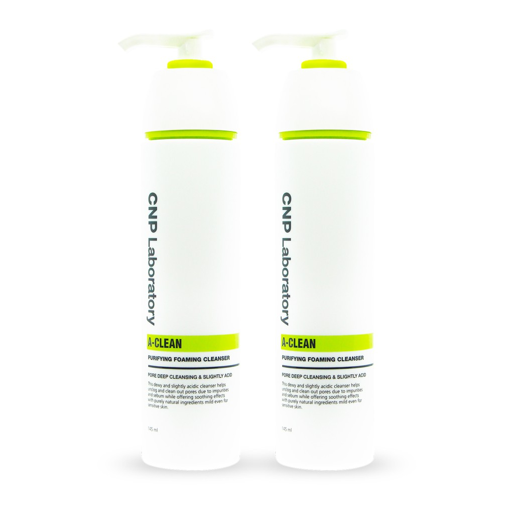 [Bundle of 2] CNP Laboratory A-Clean Purifying Foaming Cleanser 145ml