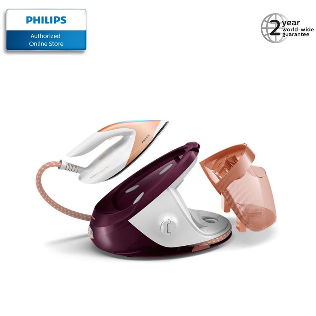 Philips PerfectCare Performer Steam Generator Iron - GC8962 with 1.8l water tank with free ironing board worth SGD199