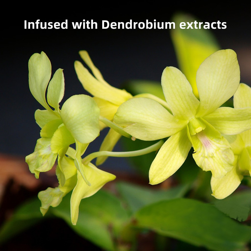 Dr Plant Dendrobium Activating Aging-Resistance Cleanser/Face Wash/Produces a Creamy Lather/Moisturizes & Hydrates the Skin/Unclogs Pores/For Oily and Dry Skin/With Natural Ingredients/120g