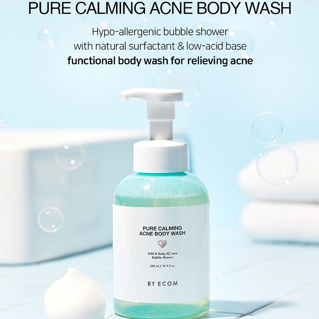 [BY ECOM OFFICIAL] Pure Calming Acne Body Wash 500ml