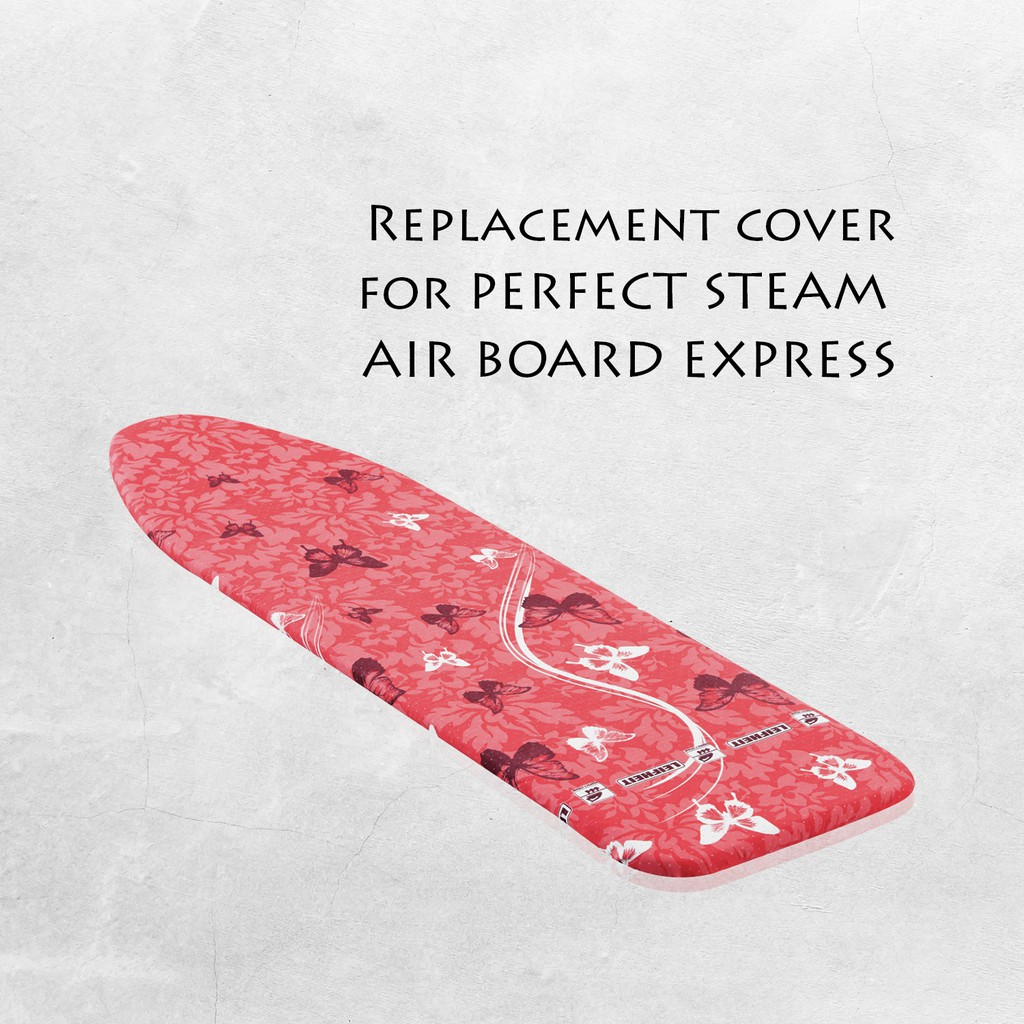 Leifheit Perfect Steam Ironing Board Cover for Steam Generators [4mm thickness cotton padding] L71613/4/5