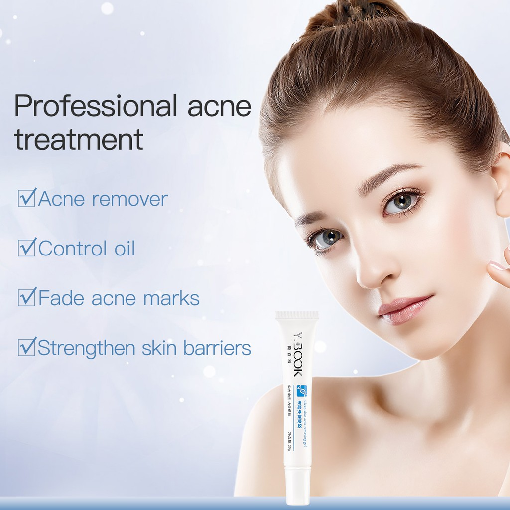 YOUNGBOOK Salicylic Acid Acne Removing Gel Acne Spot Treatment Mild Pimple Remover Niacinamide Fade Acne Marks Anti-acne Skincare 20g