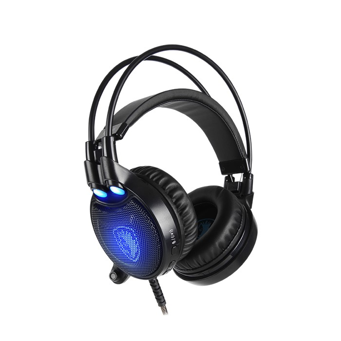 Headset Gaming Sades Octopus Plus 7.1 Surround Sound with Vibration