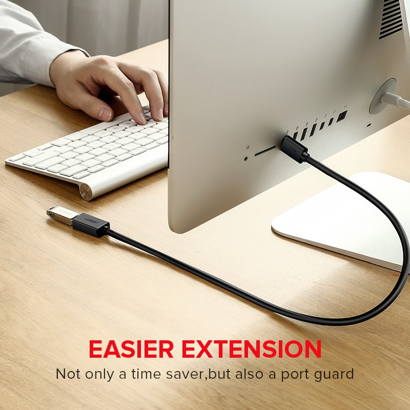 UGREEN Original Kabel Extension USB 3.0 2.0 Male to Female Super Speed for Smart TV PS4 Xbox One