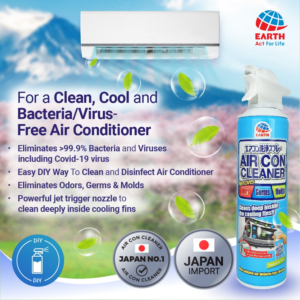 Cleaning Trial Pack - Air Con Cleaner Spray, Natucair Pink Blossom Fabric Spray & Natucair Relaxing Purple Air Fresh Gel