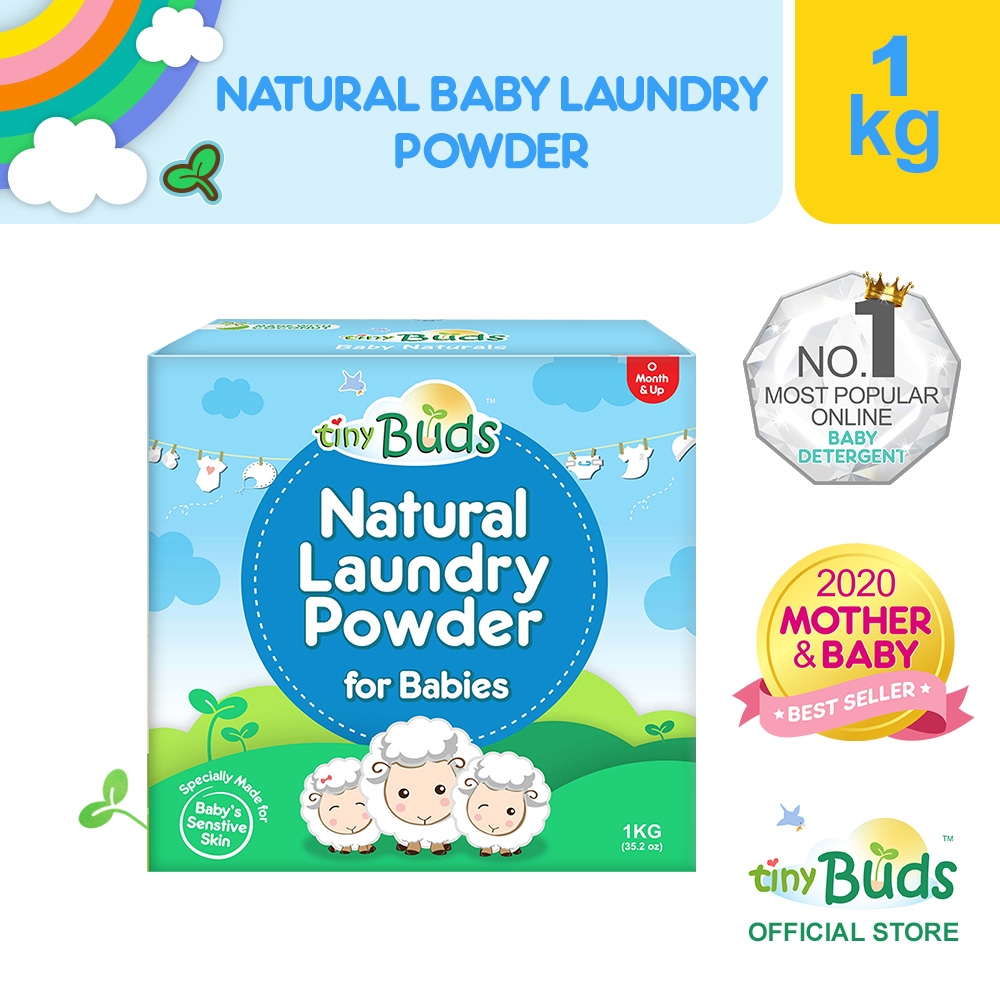 Tiny Buds Natural Laundry Powder for Babies 1KG