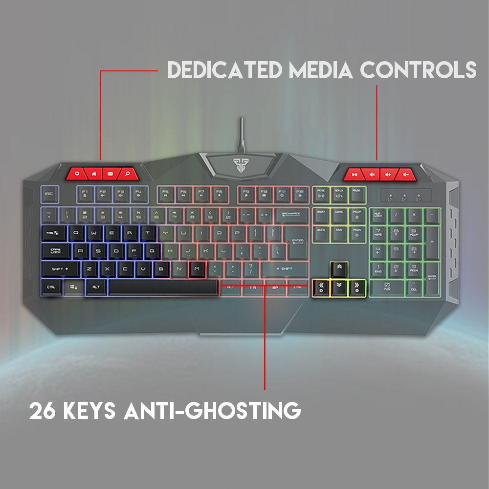Fantech 3 in 1 Combo P31 Gaming Keyboard Mouse Mousepad