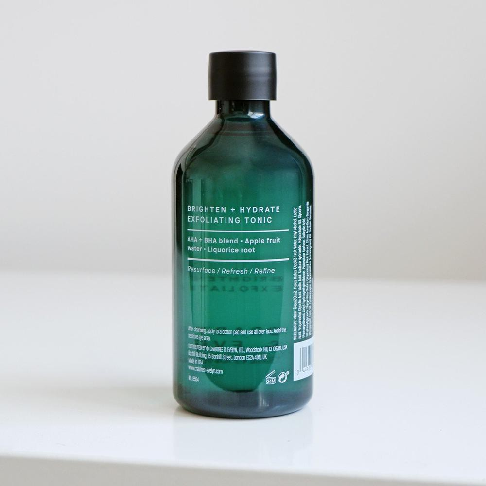 Crabtree & Evelyn Brighten + Hydrate Exfoliating Tonic 130ml