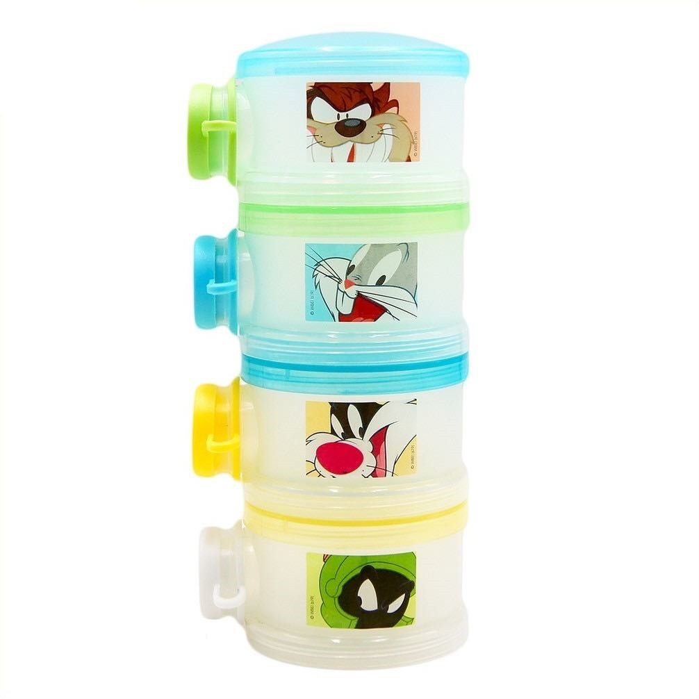 Looney Tunes Milk Powder and Snack Container