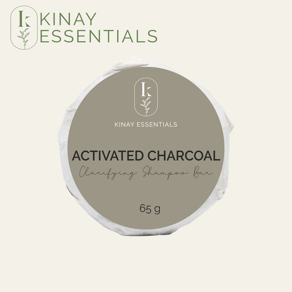 Kinay Essentials Activated Charcoal Clarifying Shampoo Bar