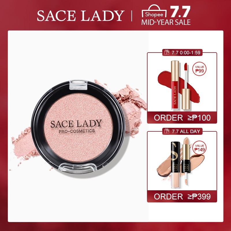 SACE LADY Highlighter Powder Makeup Smooth Pigmented Glow Beauty Cosmetics