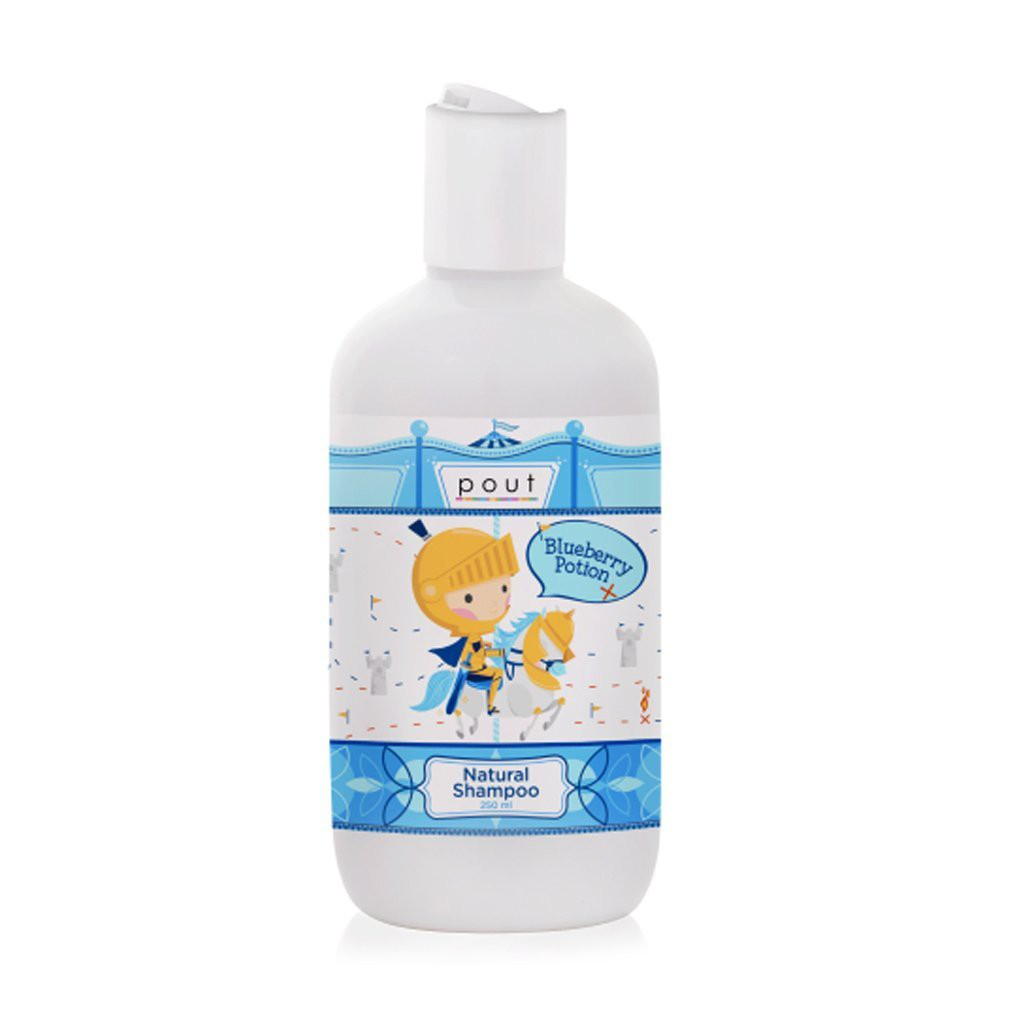 pout Care Natural Shampoo, 250ml - Strawberry/Blueberry exp 10/22